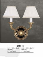 Riperlamp 271N 02.AA-AB-AE-AH-AM-AQ-AY-BG-BJ-BQ-CJ CREAM SHADE