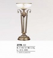 Riperlamp 277R 01.AA-AB-AE-AH-AM-AQ-AY-BG-BJ-BQ-CJ WHITE ALABASTER