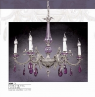 Riperlamp 369A 06.AA-AB-AE-AH-AM-AQ-AY-BG-BJ-BQ-CJ LILAC/FUME CRYSTAL DROPS