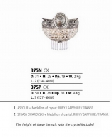 Riperlamp 375P 03.CX Swarovski Agata