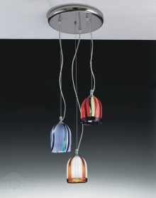 Voltolina Jacaranda Suspension Trio Nickel