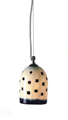 Voltolina Jacaranda Suspension Meg Black & White Nickel